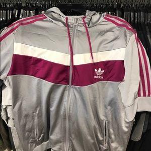 Short sleeve adidas hoodie
